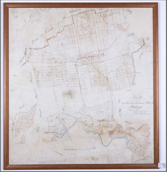 Plan pochodzący z przełomu lat 1826/1827 nie jest na co dzień udostępniany czytelnikom. Ze względu na swoje rozmiary jest oprawiony w ramę i zdobi ściany magazynu zbiorów specjalnych.
